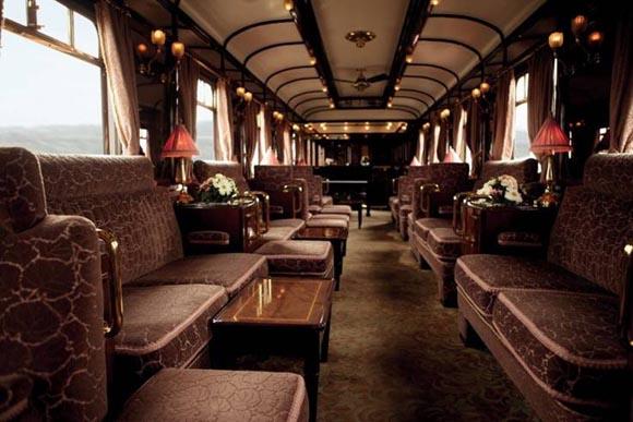 Οι πολυτελείς σουίτες του εμβληματικού τρένου Venice Simplon Orient Express