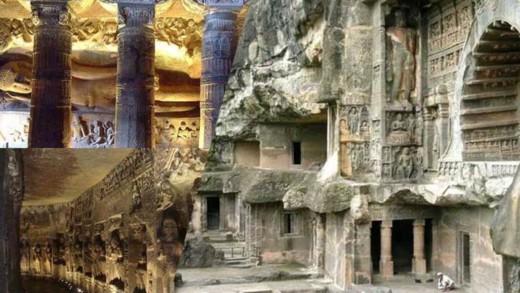 Οι σπηλιές της Ajanta