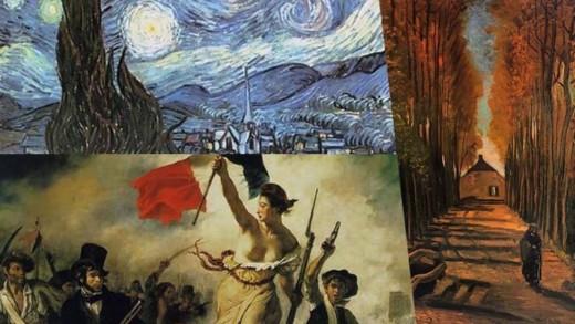 Οι σπουδαιότεροι πίνακες ζωγραφικής σε ένα site