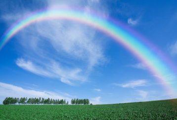 Ουράνιο τόξο - Το σύμβολο της αισιοδοξίας