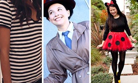 Πέντε αποκριάτικες στολές με ρούχα από την προσωπική σας γκαρνταρόμπα