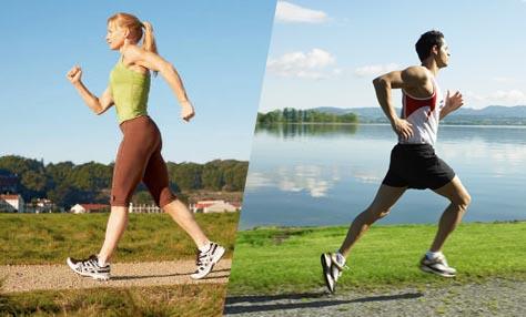 Περπάτημα ή τρέξιμο; Οι έρευνες «ψηφίζουν» και τα δυο!