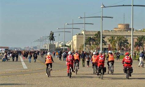 Ποδηλατοδρομία με σύνθημα «Θεσσαλονίκη, πόλη Εθελοντισμού»