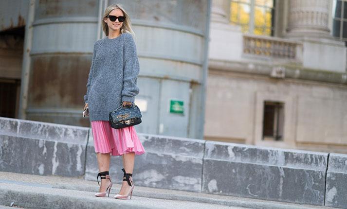 Πώς να φορέσετε τις πλισέ φούστες