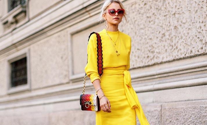 Πώς θα φορέσετε το κίτρινο αυτή τη σεζόν