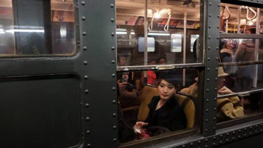 Ρετρό διαδρομές στο μετρό της Νέας Υόρκης