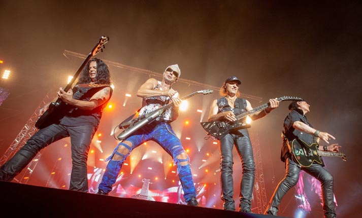 Scorpions στο Καλλιμάρμαρο-Μια μεγάλη ροκ βραδιά που έμεινε στην ιστορία!
