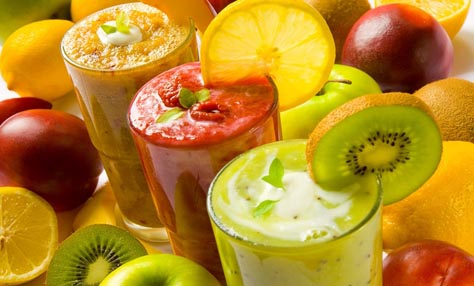 Smoothies με χειμωνιάτικα φρούτα & λαχανικά