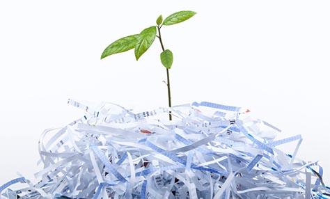 Σώστε το περιβάλλον με την ανακύκλωση χαρτιού