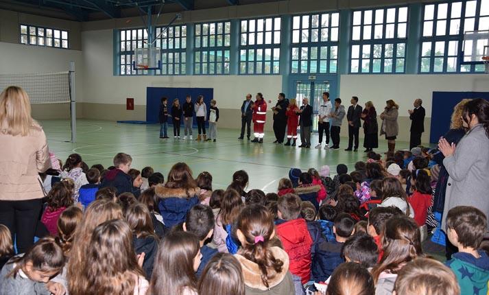Συγκινητική πρωτοβουλία οικονομικής ενίσχυσης του Ε.Ε.Σ. από τους μαθητές Δημοτικού της Ερασμείου Ελληνογερμανικής Σχολής