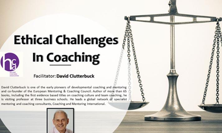 Συνάντηση Γνώσης του Hellenic Coaching Association / EMCC Greece με θέμα Ethical Challenges in Coaching