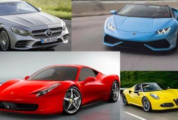 Τα ομορφότερα αυτοκίνητα της αυτοκινητοβιομηχανίας
