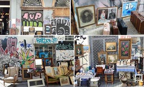 Τα παλαιοπωλεία της Αθήνας