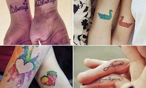 Τατουάζ για ζευγαράκια