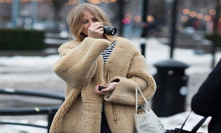 Teddy bear coat: Η πιο hot επιλογή παλτό για το χειμώνα