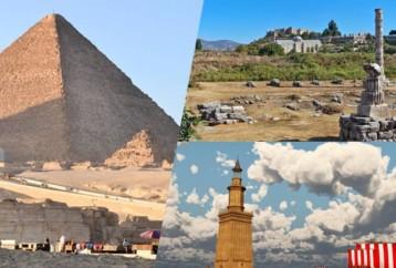 Τι γνωρίζουμε για τα εφτά θαύματα του αρχαίου κόσμου;