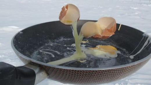 Τι μπορεί να συμβεί αν πας να μαγειρέψεις στους -70° C