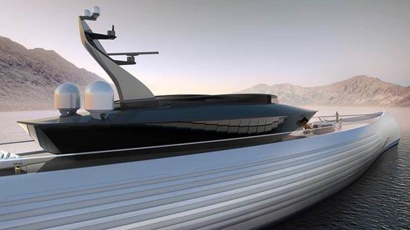 Το πρώτο υπερπολυτελές σκάφος σε σχήμα κανό