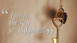 Το συστατικό της ευτυχίας είναι η αγάπη!