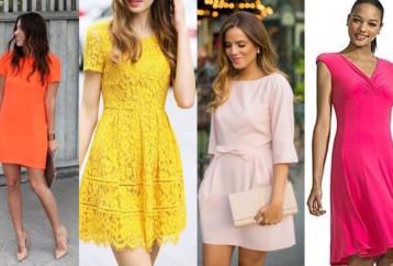 Trendy χρώματα για ανοιξιάτικα φορέματα