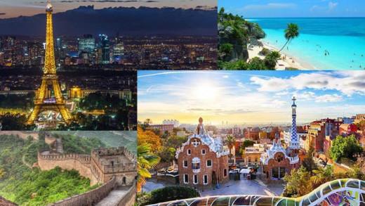 Βγήκε η λίστα με τις πιο τουριστικές χώρες του κόσμου για το 2018