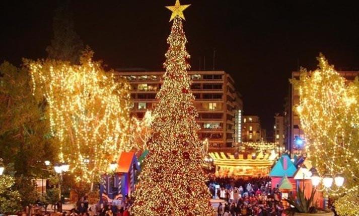 Χριστούγεννα στην Αθήνα 2017-2018