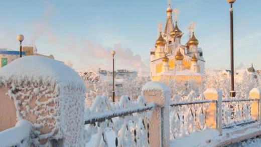 Yakutsk της Ρωσίας: Η πιο κρύα πόλη του κόσμου με την μέση θερμοκρασία να είναι στους -50°