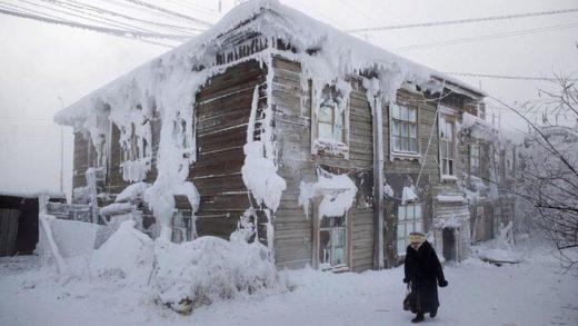 Ζουν άνθρωποι στους μείον 50 βαθμούς Κελσίου;